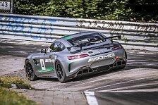 VLN - Bilder: Brandneuer Mercedes-AMG GT4 auf der Nordschleife