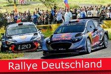 Ticker: Alle News zur Rallye Deutschland 2017
