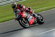 Davies bricht Kawasaki-Widerstand beim ersten Superbike-Rennen am Lausitzring