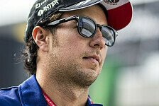 Formel-1-Pilot Sergio Perez will bis Singapur Klarheit über Cockpit 2018