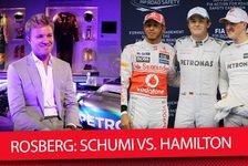 Schumacher oder Hamilton? Das war Rosbergs stärkster Gegner