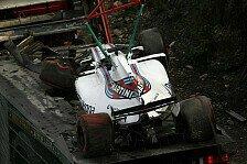 Wegen Crash: Massa verliert in Spa Chassis und 2 Trainings