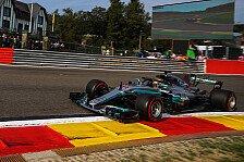 Formel 1 2017 in Spa: Hamilton Schnellster im Training