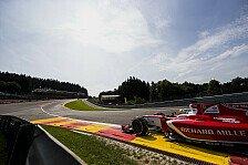 News-Ticker: Formel-2-Rennwochenende 2017 in Spa-Francorchamps