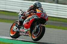 Marc Marquez riskiert beim MotoGP-Rennen in Silverstone: Jeder Punkt zählt