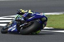 Valentino Rossi und Maverick Vinales in Silverstone wieder top - dank Test