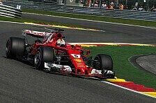 Formel 1 Spa: Vettel profitiert im Qualifying von Räikkönen-Schützenhilfe