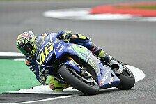 MotoGP Aragon 2017: Regen bei Rossi-Comeback, Marquez 1. in FP1