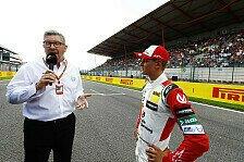 Mick Schumacher zieht Bilanz: Formel 1 bleibt das Ziel