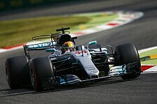 Formel 1 2017, Monza: Hamilton Schnellster im Ferrari-Land