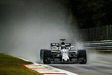 Formel 1, Monza 2017: Regenchaos im 3. Training