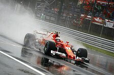 Regen-Chaos in Monza: Crash-Pilot Grosjean sauer, Marko: Abbruch dumm