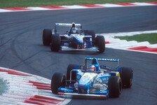 Geschichte Italien GP: Schumacher und Hills Monza-Eklat 1995