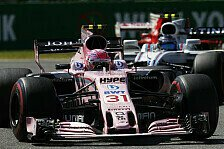 Formel 1: Force India macht P4 klar, echtes Racing in Brasilien