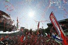 Versagt! Ferrari und Vettel trösten sich in Monza mit Podiums-Party