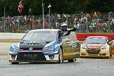 WRX - Video: WRX: VW Polo auch in Frankreich unschlagbar - Kristoffersson besiegt Loeb