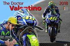 Mit Rossi und Grid Girls in das neue MotoGP-Jahr