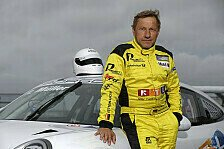 Tatort-Schauspieler Richy Müller startet im Carrera Cup