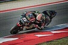 MotoGP Misano 2018: Zarco legt im FP3 auf nasser Strecke vor