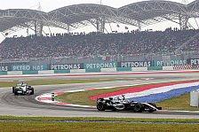 Formel 1 - McLaren scheiterte an den Reifen