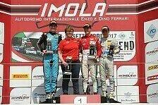 BWT Mücke Motorsport-Duo trotzt dem Regenchaos in Imola