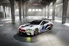 BMW zeigt neuen M8 GTE für Le Mans ab 2018