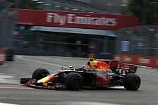 Formel 1 Singapur 2017 Live: Red Bull beherrscht Trainings