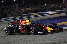 Formel 1 Singapur: Red Bulls Ricciardo dominiert 2. Training