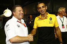 Formel 1 McLaren: So läuft der Übergang von Honda zu Renault