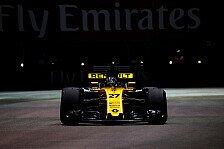 Hülkenberg schlägt McLaren, Renault winkt Sprung nach vorne