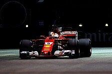 Formel 1 Singapur: Sebastian Vettel holt Pole nach Quali-Krimi