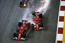 Singapur-F1-Chaos: Vettel crasht mit Verstappen und Räikkönen
