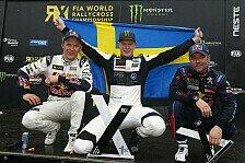 VW holt WM-Titel im Rallycross: Kristoffersson ist WRX-Champion