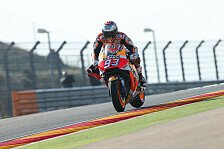 MotoGP Aragon 2017: Marquez voran, Rossi beinahe abgeräumt