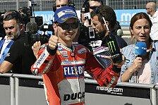 Jorge Lorenzo sicher: Mein Sieg mit Ducati kommt immer näher