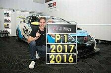 Zweite Saison, zweiter Titel: Josh Files erneut TCR-Meister