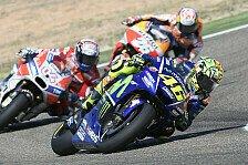 MotoGP: Valentino Rossi fährt nach Beinbruch mit Daumenbremse