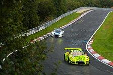 Porsche gewinnt Marken-Dreikampf gegen Audi und Mercedes bei VLN-Regenschlacht