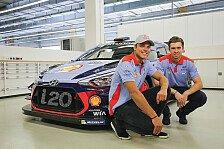 Andreas Mikkelsen startet 2018 und 2019 in der WRC für Hyundai