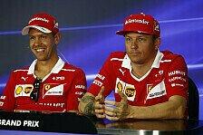 Sebastian Vettel verteidigt Ferrari: Mercedes nicht weggeflogen