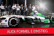 Formel E - Video: Audi-Präsentation: Alles zum neuen Formel-E-Team für 2017/2018