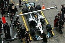Formel 1 Japan 2017: Hamilton will alte Mercedes-Spezifikation