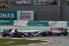 Force India schwärzt F1-Gegner an: Am Sepang-Start geschummelt