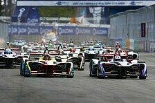 Formel E Kalender 2018: Rennstart in Zürich verschoben