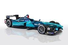 Formel E: NIO präsentiert Nachfolger von Piquet