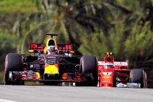 Formel 1 Malaysia: Red Bull schneller als Ferrari und Mercedes?