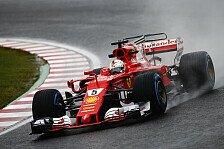 Sebastian Vettel in Japan: Ferrari-Duell mit Mercedes vorbei
