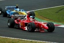 Formel 1 - Bilder: Japan GP 2003: Michael Schumacher und Ferrari in ihrem härtesten WM-Finale