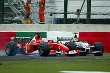 Formel 1 Japan 2003: Michael Schumachers härtestes WM-Finale