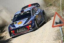 Rallye Australien: Hyundai mit Neuville, Mikkelsen und Paddon